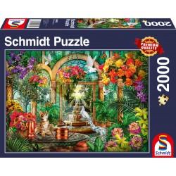 Puzzle Schmidt: Atrium, 2000 piese