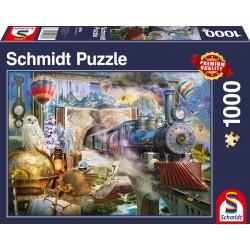 Puzzle Schmidt: Călătorie magică, 1000 piese