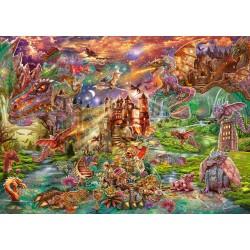 Puzzle Schmidt: Comoara dragonului, 2000 piese
