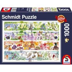 Puzzle Schmidt: Anotimpuri, 1000 piese