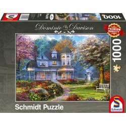 Puzzle Schmidt: Dominic Davison - Conac victorian, 1000 piese