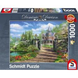 Puzzle Schmidt: Dominic Davison - Moșie idilică, 1000 piese