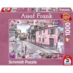 Puzzle Schmidt: Assaf Frank - Călătorie romantică, 1000 piese