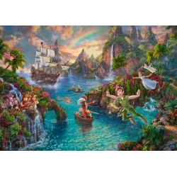 Puzzle Schmidt: Thomas Kinkade - Disney - Peter Pan, 1000 piese