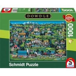 Puzzle Schmidt: Dowdle - Midway, 1000 piese