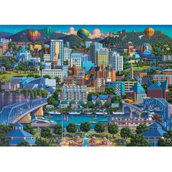Puzzle Schmidt: Dowdle - Chattanooga, 1000 piese