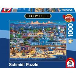 Puzzle Schmidt: Dowdle - Newport, 1000 piese