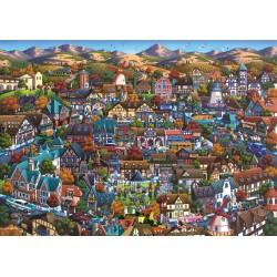 Puzzle Schmidt: Dowdle - Solvang, 1000 piese