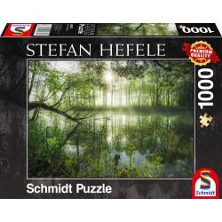 Puzzle Schmidt: Stefan Hefele - Jungla de acasă, 1000 piese