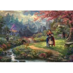 Puzzle Schmidt: Thomas Kinkade - Disney - Mulan, 1000 piese