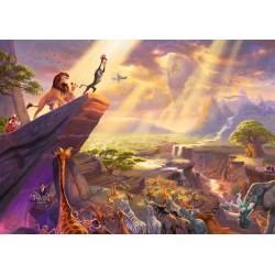 Puzzle Schmidt: Thomas Kinkade - Disney - The Lion King, 1000 piese