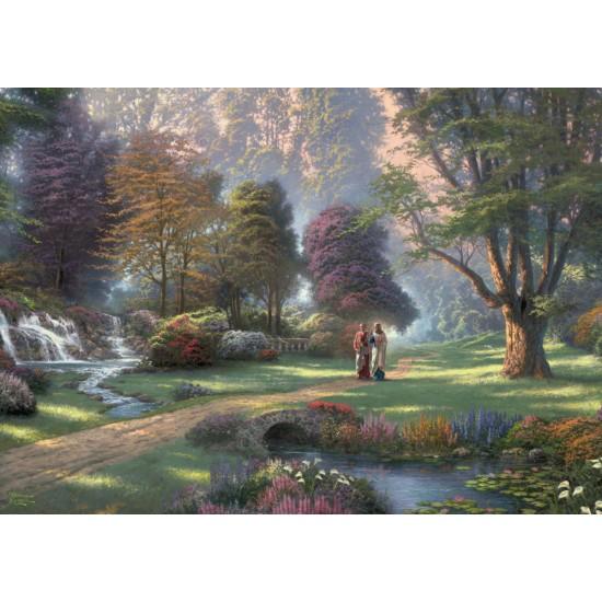 Puzzle Schmidt: Thomas Kinkade - Spirit - Calea credinței, 1000 piese