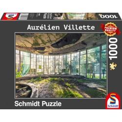Puzzle Schmidt: Aurélien Vilette - Topophilia - Vechea cafenea din Abhazia, 1000 piese