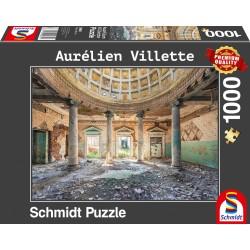 Puzzle Schmidt: Aurélien Vilette - Topophilia - Sanatoriu, 1000 piese