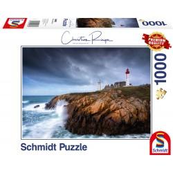 Puzzle Schmidt: Christian Ringer - Saint-Mathieu, 1000 piese