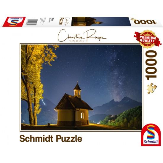 Puzzle Schmidt: Christian Ringer - Lockstein – Calea Lactee, 1000 piese