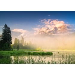 Puzzle Schmidt: Christian Ringer - Lacul Taubensee, Austria, 1000 piese