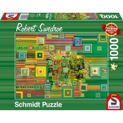 Puzzle Schmidt: Robert Swedroe - Green Flashdrive, 1000 piese