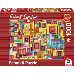 Puzzle Schmidt: Robert Swedroe - Cyber Intervention, 1000 piese