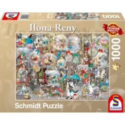 Puzzle Schmidt: Ilona Reny - Decorarând cu vise, 1000 piese